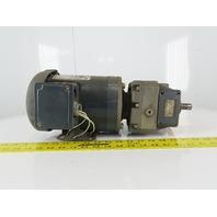 "Grove Gear P7172011.B1 Inline Gear Motor 1/3Hp 460V 3ph 15.3: Ratio 3/4"" Shaft"