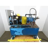 Eaton Vickers  PVQ20-B2R 10Hp 40 Gallon Hydraulic Power Station 208-230/460V 3Ph