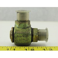 "Parker S2101-6-6 Hydraulic Swivel Fitting, 90° Elbow 3/8x3/8"" NPT"