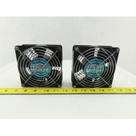 IMC 4715PS-12T-B30 115V 50/60Hz Electrical Cabinet Cooling Fan Lot Of 2