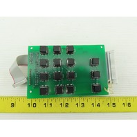 Gulmay MP2-046 Circuit Board Key Pad From a Model MP1