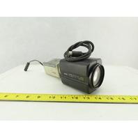 ARM Electronics B380 Monochrome Camera EIA DC12V/AC24V W/Pelco Zoom Lens