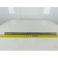 "Dematic J00446178A 1-3/16"" OD 27-1/8"" OAL Solid Steel Drive Shaft Keyed Ends"