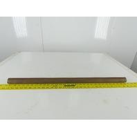 "K00031001D 1-7/16"" OD Solid Steel Shaft 5/8-16"" Thread 30-1/4"" OAL"