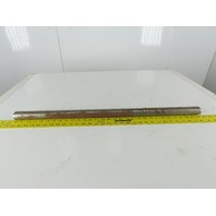 """1-7/16"""" OD x 30-3/4"""" OAL Solid Steel Shaft 5/8-16 Threaded Ends"""