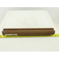 "2-7/16"" OD x 16-3/4"" Solid Steel Shaft 5/8"" Full Length Keyway"