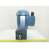 Sew Eurodrive WF20DT63M4/TF/IS 1620/42RPM Gear Motor 20mm Shaft 277/480V 3Ph