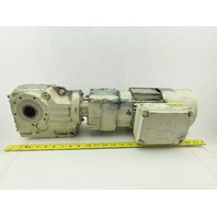 Sew Eurodrive KH37R17DT71K4BMG05HR 1/4Hp 267:1 Gear Motor 277/480V 3Ph