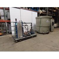 Delta T-100 100 Ton Cap. 10Hp Forced Draft Cooling Tower Heat Exchanger Package