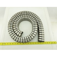 """1-1/2"""" Square Flex Stainless Steel Cable Carrier 61"""" OAL 6"""" Bend Radius"""