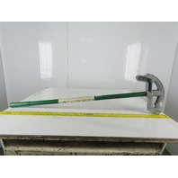 "Greenlee Model 842 1"" EMT 3/4"" Rigid Conduit Bender W/ Handle"