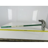 "Greenlee Model 841 3/4"" EMT 1/2"" Rigid Conduit Bender W/ Handle"