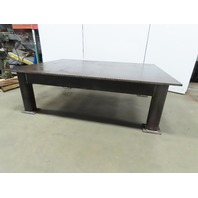 "H.D. 7/8"" Thick Top Steel Fabrication Layout Welding Table Work Bench 72""x96"""