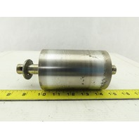 """Stainless Steel Conveyor Take-up Roller Tail Pulley 3"""" OD 4-1/2"""" Wide 3/4"""" Shaft"""