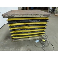"""Southworth LS4-36 4000Lb Lift Table Hydraulic 115V 1Ph 11 to 47"""" Lift 54x42"""" Top"""