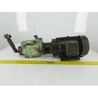 Fuji P-37-2.2 PSV-23C1A-A7B-2 Hydraulic Piston Pump 2.2kW 200/220V 50/60Hz