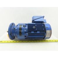 Sumitomo CNVM1-6100YC-29 1Hp Inline Gear Motor 29:1 Ratio 60.3RPM 230/460V 3Ph