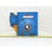 """Boston Gear Speed Reducer Gear Box 20:1 Ratio 1-7/16"""" Thru Shaft"""