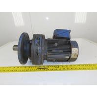 Sumitomo PA066972 1-1/2Hp Inline Gear Motor 51:1 Ratio 34.3RPM 230/460V 3Ph
