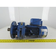 Sumitomo PA188152 1-1/2Hp Inline Gear Motor 51:1 Ratio 34.3RPM W/Brake 230V 3ph