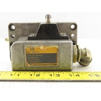 Omron 2VBQ3-1N 125/250V 10A 2 Position Plunger Limit Switch