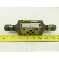 Parker FM2DD 5000 PSI Hydraulic Precision Color Flow Pressure Reducing Valve