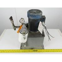 1-1/2Hp 5 Gallon Hydraulic Power Unit 208-230/460V 3ph