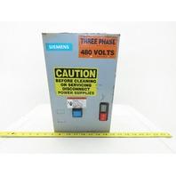 Siemens 3RT1035-1A 480V 3Ph 30Hp Motor Starter Remote Operator