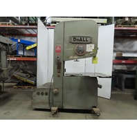 "DoALL ZV-3620 7.5Hp Vertical Band Saw 35""x 14"" 2000 to 10000 Rpm 230/460V 3Ph"