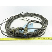 Robotic Servo Motor Main Power And Encoder Cable 3 Terminations See Info