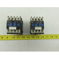 Telemecanique LC1D1210 3Ph 600V 10Hp Contactor Relay 110V Coil Lot Of 2