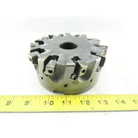 """SMC 5.010-10436 5"""" Indexable Face Mill Cutter 1-1/2"""" Arbor 10 Flute"""