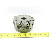 """Dijet SMC 5.010-10438 5"""" Indexable Face Mill Cutter 1-1/2"""" Arbor 10 Flute"""