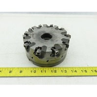 """Dijet SMC 5.010-10552 5"""" Indexable Face Mill Cutter 1-1/2"""" Arbor 10 Flute"""