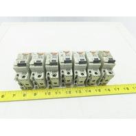 Merlin Gerin C60N 10A Type B Circuit Breaker 277V Lot Of 7