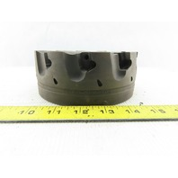 """Dijet SMC 6.010-10456 6"""" Indexable Face Mill Cutter 1-1/2"""" Arbor 10 Flute"""