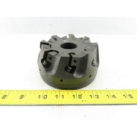 """Dijet SMC4008-0028 4"""" Indexable Face Mill Cutter 1-1/2"""" Arbor 8 Flute"""