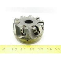 """Dijet SMC4008-10889 4"""" Indexable Face Mill Cutter 1-1/2"""" Arbor 8 Flute"""