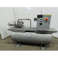Rietschle VCTS-60-122 VCE-60 3HP 120 Gal Vacuum Pump System 208-230/460V 1.41Hrs