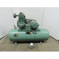Bell & Gossett Model 325 5Hp 2 Stage Air Compressor 80 Gallon 230/460V 3Ph