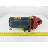 "Franklin Electric Scot Model 60 2Hp 208-230/460V 3Ph 1-1/2""x1-1/4"" Motor Pump"