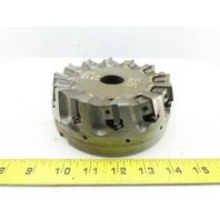 """Dijet SMC-6012-10876 6"""" Indexable Face Mill Cutter 1-1/2"""" Arbor 12 Flute"""