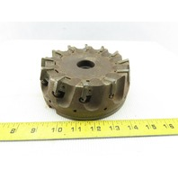 """Dijet SMC6012-10875 6"""" Indexable Face Mill Cutter 1-1/2"""" Arbor 12 Flute"""