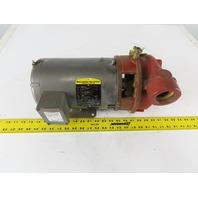 """Baldor Scot model 2030H0SA 3Hp 3450RPM 208-230/460V 1-1/2""""x1-1/2"""" Motor Pump"""