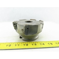 """Walter F3042-400125R 4.5"""" Indexable Face Shell Mill Cutter 1-1/2"""" Arbor 6 Flute"""