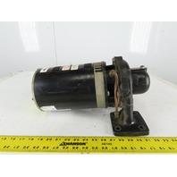 """Marathon 3375K164 3Hp 3450RPM 3Ph 208-230/460V 1-1/2""""x1"""" Centrifugal Motor Pump"""