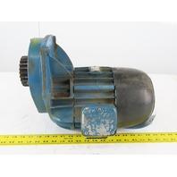 Demag 16/6 K8 0.30kW 815 RPM Output 230YY/460Y Gear Motor
