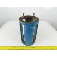 """Gusher 2.5x2.5x10-SFL-CDM-4L 254/256UC Barrelmount Pump Motor Adapter 13.25"""""""