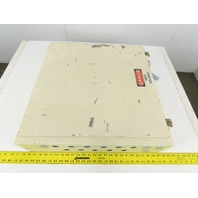 """Hoffman 24"""" x 24"""" x 6"""" Type 12 Electrical Enclosure W/ Back Plate"""