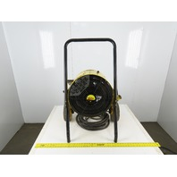 Fostoria Heatwave 15 240V 1 Phase 15kW Fan Forced Heater Salamander Portable